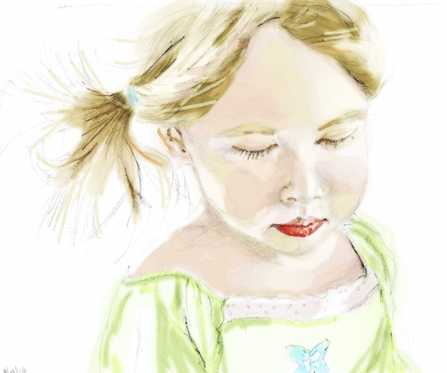 Girl Digital Painting