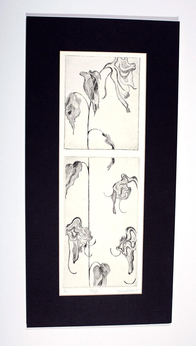 Print of Flowers: Original Design