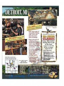 Detroit flyer