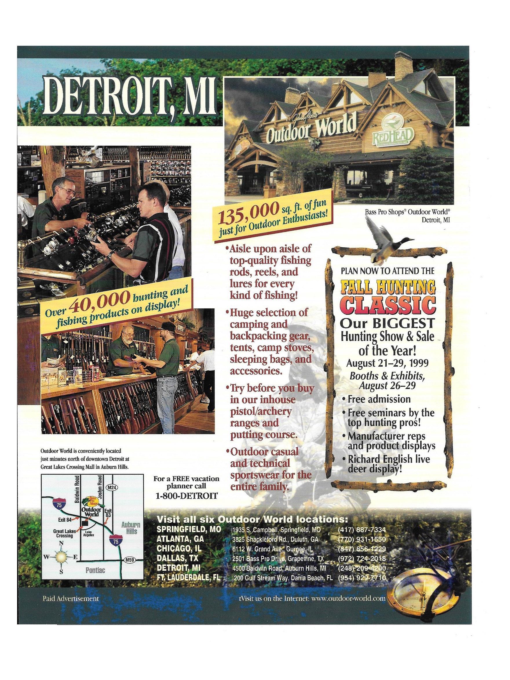 Detroit Flyer Design