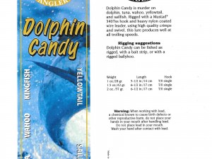 Dolphin Candy Package Design
