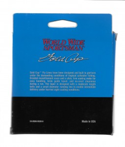Worldwide Sportsman Premium Fly Line Package Design