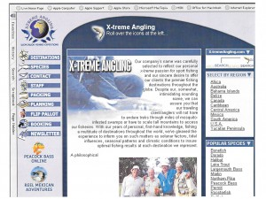 Icon Illustration: X-treme Angling Website