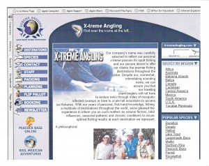 X-treme Angling Website Icon Illustration and Design
