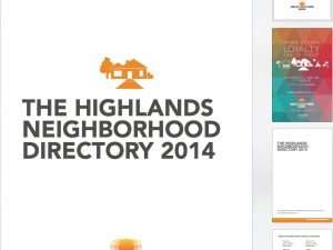 Page layout: Great Southern Directory